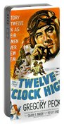 1949 - Twelve O Clock High Movie Poster - Gregory Peck - Dean Jagger - 20th Century Pictures - Color Portable Battery Charger