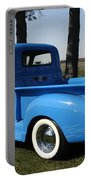 1950 Chevrolet Pick Up Baby Blue Portable Battery Charger