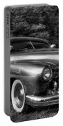 1950 Custom Mercury Black And White Portable Battery Charger