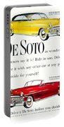 1950 - De Soto Sportsman Convertible - Advertisement - Color Portable Battery Charger