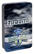 1950 Ferrari Emblem Portable Battery Charger