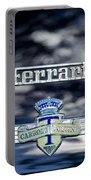 1950 Ferrari Emblem Portable Battery Charger by Jill Reger