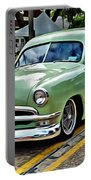 1950 Ford Deluxe Woody Station Wagon Portable Battery Charger