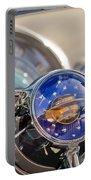 1950 Oldsmobile Rocket 88 Steering Wheel Portable Battery Charger by Jill Reger
