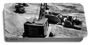 1950s Construction Site Excavation Portable Battery Charger