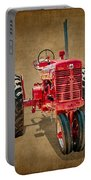 1950s Era International Harvester Tractor E108 Portable Battery Charger by Wendell Franks