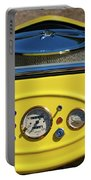 1950s Hot Road Dashboard At Antique Car Portable Battery Charger