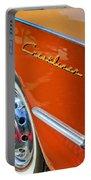 1951 Ford Crestliner Emblem - Wheel Portable Battery Charger by Jill Reger