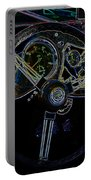 1951 Mg Td Dashboard_neon Car Art Portable Battery Charger