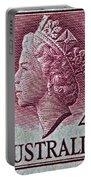 1952-1958 Australia Queen Elizabeth II Stamp Portable Battery Charger