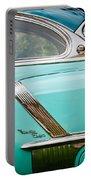 1952 Oldsmobile 98 Holiday Hardtop Side Emblem -1454c Portable Battery Charger