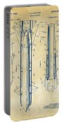1953 Aerial Missile Patent Vintage Portable Battery Charger