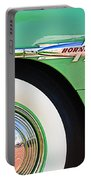 1953 Hudson Hornet Sedan Wheel Emblem Portable Battery Charger