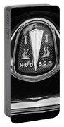 1953 Hudson Twin Hornet Grille Emblem Portable Battery Charger