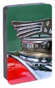 1953 Morgan Plus 4 Le Mans Tt Special Hood Ornament Portable Battery Charger