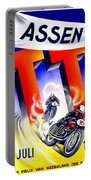 1954 - Assen Tt Motorcycle Poster - Color Portable Battery Charger