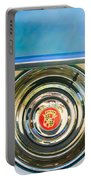 1954 Cadillac Coupe Deville Wheel Emblem Portable Battery Charger