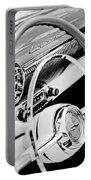 1954 Chevrolet Belair Steering Wheel Emblem -1535bw Portable Battery Charger