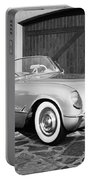1954 Chevrolet Corvette -203bw Portable Battery Charger