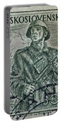 1954 Czechoslovakian Soldier Stamp Portable Battery Charger