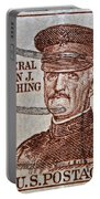 1954 General John J. Pershing Stamp Portable Battery Charger