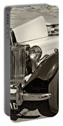 1954 Mg Td Sepia Portable Battery Charger