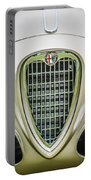 1955 Alfa Romeo 1900 Css Ghia Aigle Cabriolet Grille Emblem -0564c Portable Battery Charger