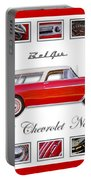 1955 Chevrolet Belair Nomad Art Portable Battery Charger