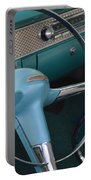 1955 Chevy Nomad Steering Wheel Portable Battery Charger