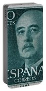 1955 General Franco Spanish Stamp Portable Battery Charger