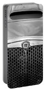 1955 Lancia Aurelia B24 Spyder America Roadster Grille -0278bw Portable Battery Charger