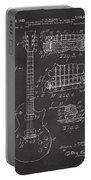 1955 Mccarty Gibson Les Paul Guitar Patent Artwork - Gray Portable Battery Charger