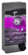 1956 Buick Special Riviera Coupe-purple Portable Battery Charger