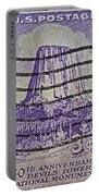 1956 Devils Tower National Monument Stamp Portable Battery Charger