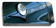 1956 Ford F-100 Truck Emblem Portable Battery Charger