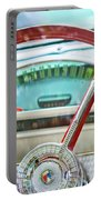 1956 Ford Thunderbird Steering Wheel -260c Portable Battery Charger