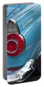 1956 Ford Thunderbird Taillight And Emblem Portable Battery Charger
