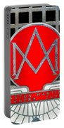 1957 Aston Martin Owner's Club Emblem Portable Battery Charger