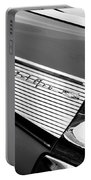 1957 Chevrolet Belair Convertible Taillight Emblem Portable Battery Charger