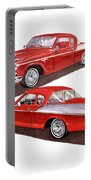 1957 Studebaker Silver Hawk Portable Battery Charger