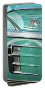 1958 Chevrolet Impala Emblem Portable Battery Charger