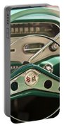 1958 Chevrolet Impala Steering Wheel Portable Battery Charger by Jill Reger