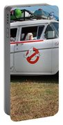 1958 Ford Suburban Ghostbusters Car Portable Battery Charger