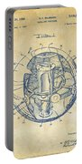 1958 Space Satellite Structure Patent Vintage Portable Battery Charger