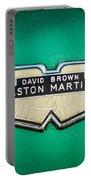 1959 Aston Martin Db4 Gt Hood Emblem -0127c Portable Battery Charger