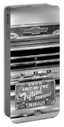 1959 Chevrolet Apache Bw 012315 Portable Battery Charger
