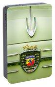 1959 Fiat 600 Derivazione 750 Abarth Hood Ornament Portable Battery Charger