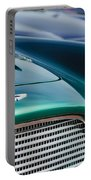 1960 Aston Martin Db4 Series II Grille - Hood Emblem Portable Battery Charger by Jill Reger
