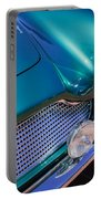 1960 Aston Martin Db4 Series II Grille Portable Battery Charger by Jill Reger