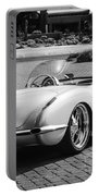 1960 Chevrolet Corvette -0880bw Portable Battery Charger